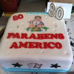 An 80th birthday party