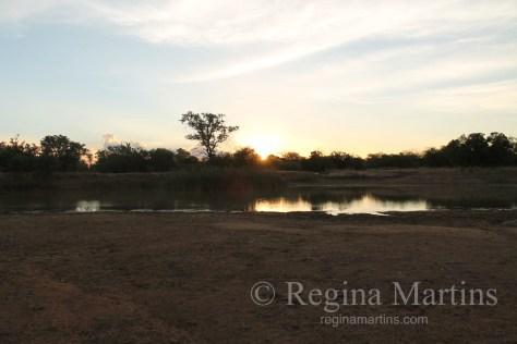 Serenity - An African Sunset