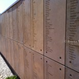 South Africa's Wall of Names at Freedom Park