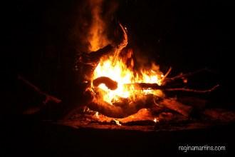 Firelight Haiku by reginamartins.com