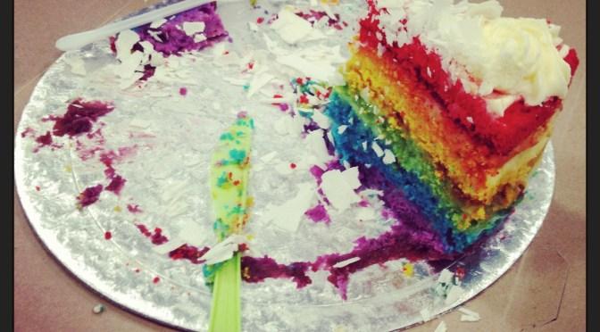 RAINBOW CAKE BY REGINAMARTINS