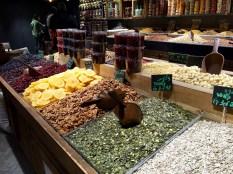 Sarona Market - seed, fruit and nuts ©2016 Regina Martins