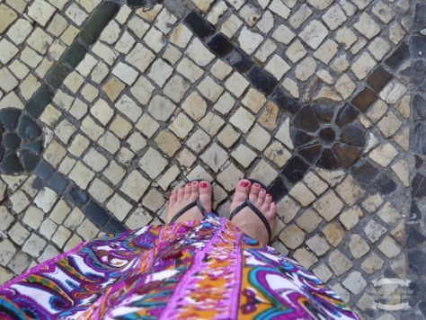 The unique pavements of Lisbon ©2016 Regina Martins