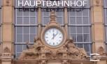 Clock at Frankfurt Am Main Hauptbanhof ©2017 Regina Martins