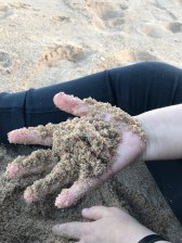 Sand between my fingers ©2018 Regina Martins