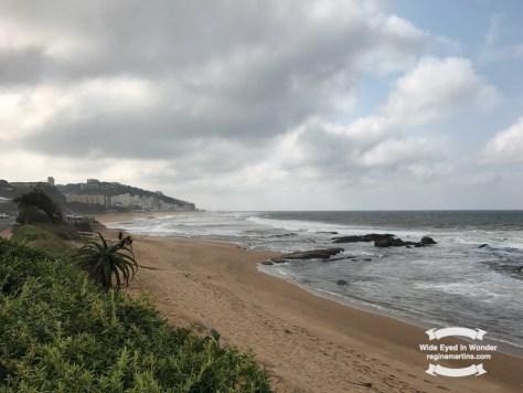 A to Z challenge Umdloti Beach