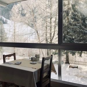 Fruehstueck im Hotel Reginaterme