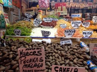 Sur les étals du Mercado Central ©Régine Cavallaro