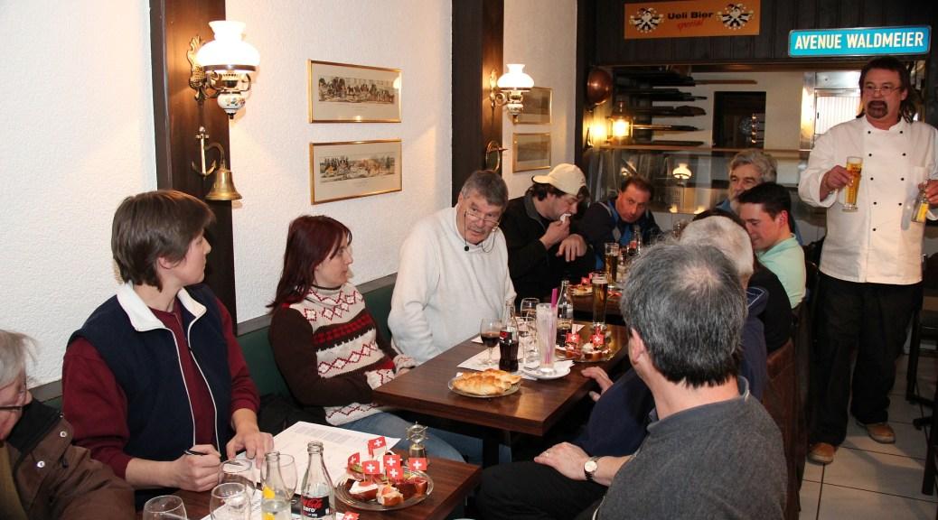 GV 2013 im Cafe Spalenberg