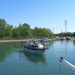 auf dem Canal du Rhône au Rhin