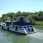 Moby Dick auf dem Canal du Rhône au Rhin
