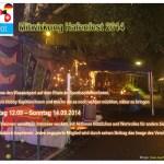 Nachtansicht Installation Hafenfest