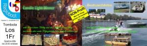 Darstellung der Tombola Hauptpreise zum Hafenfest: Kulinarisches & Bootsausfahrten
