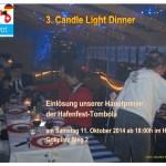 Hauptpreisgewinner beim Candlelight Dinner 3