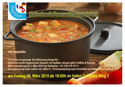 Fasnachthock 06.03.2015