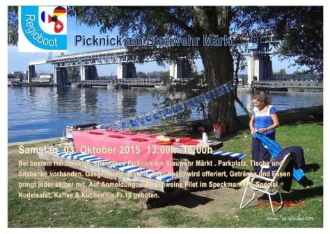 Einladung Picknick Märkt