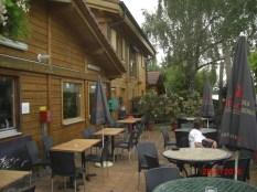Gartenterrasse Brasserie Chalet Rhin & Découverte, Rosenau