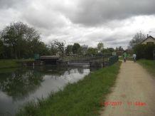 Canal de Huningue Schleuse Rosenau