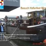 Einladung Hafenfest Birsfelden 21.05.2017