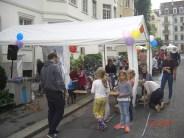 Kinderspiele Zelt mit Angeln, Schminken und Worldmusic. Haus 15