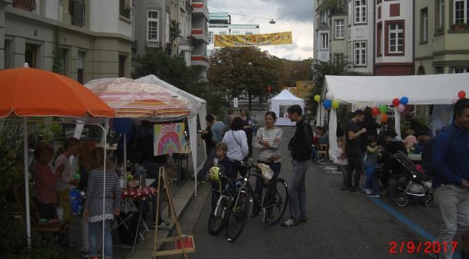 Bericht Rheinländerstrassenfest 2. September 2017