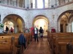 Abteikirche Ottmarsheim, Oktogon Inenraum