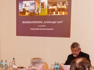 Eröffnung der Veranstaltun durch Herrn Pohlers