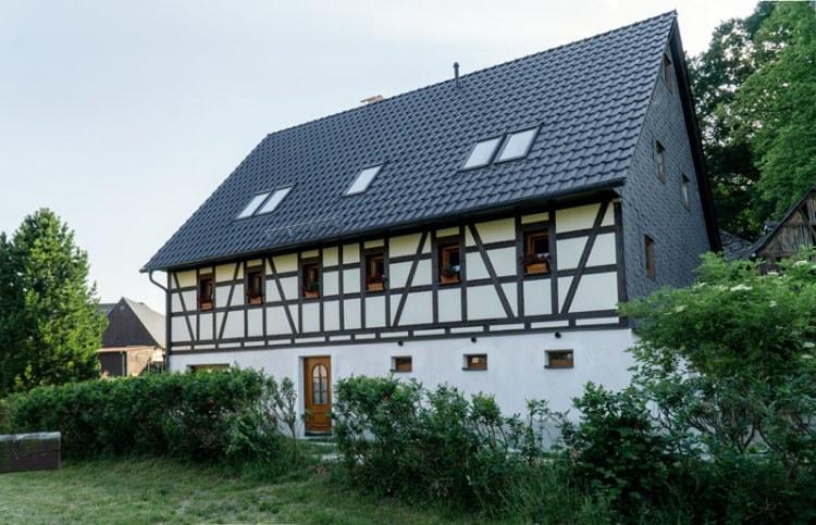 Umbau eines alten Gehöftes zu Wohnzwecken