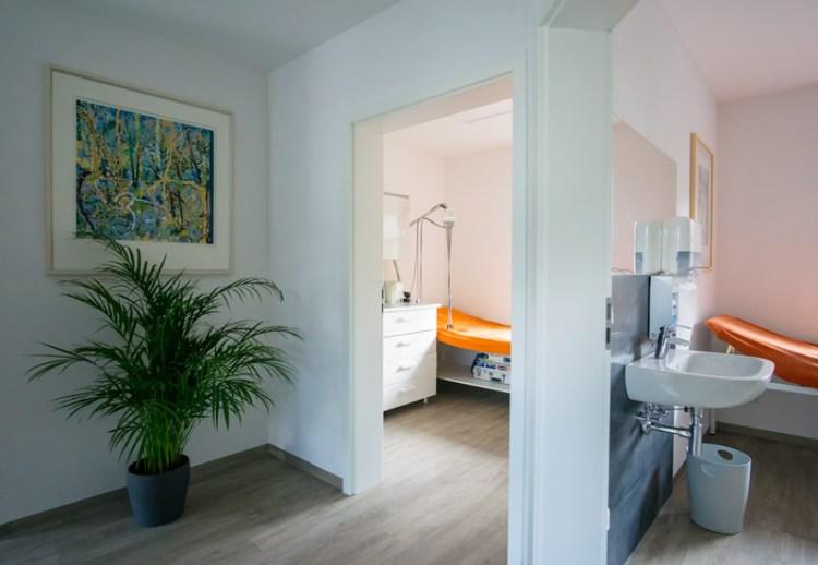 Praxis: Moderne Behandlungsräume