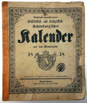 Bild: Schönburgische Hauskalender 1858