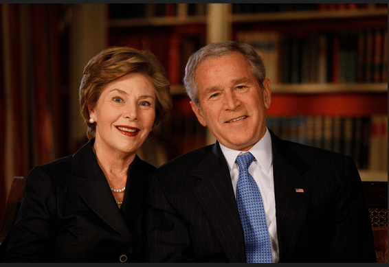 laura george bush