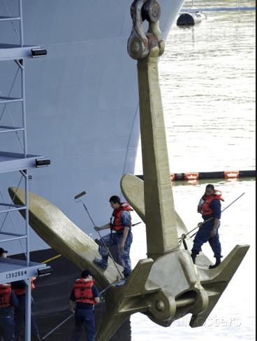 anchor navy aircraft carrier nimitz