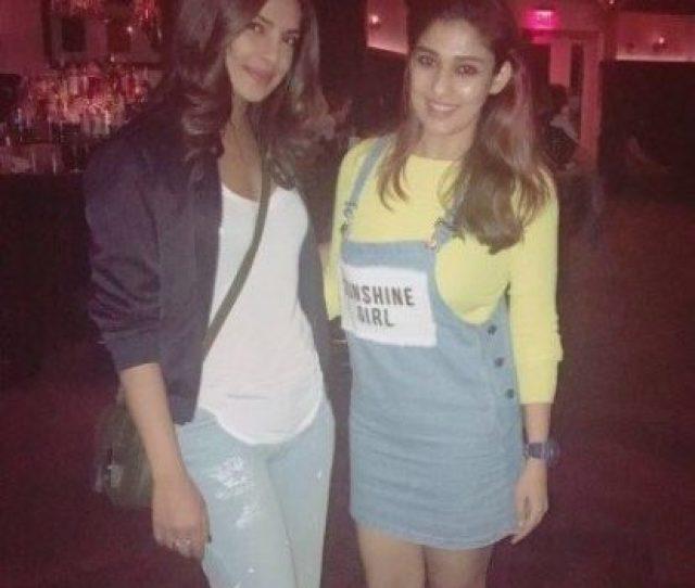 Priyanka Chopras Picture With Nayanthara Is Breaking The Internet