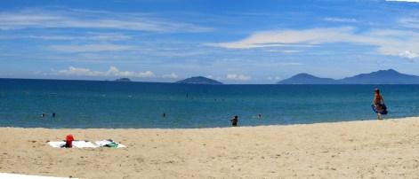 Beach near Hội An