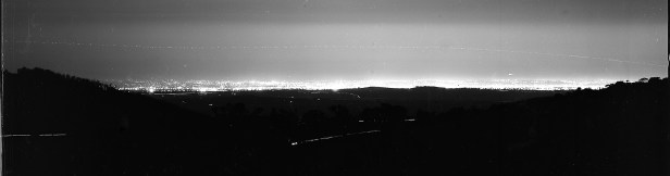 Melbourne from the Macedon Ranges