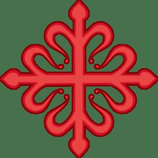 Orden de Calatrava, encargada del Valle de Alcudia, las Siete Villas de Los Pedroches, el Señorío de Santa Eufemia y el Valle del Guadiato