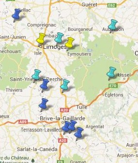Villes et Villages Classés du Limousin