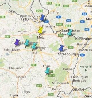 Villes et Villages Classés en Lorraine