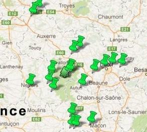 Jardins Remarquables Bourgogne
