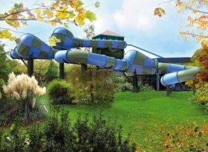 Center parc des Hauts de Bruyères toboggan Topsy Turvy