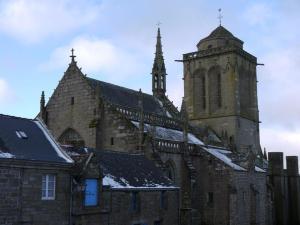 Locronan église