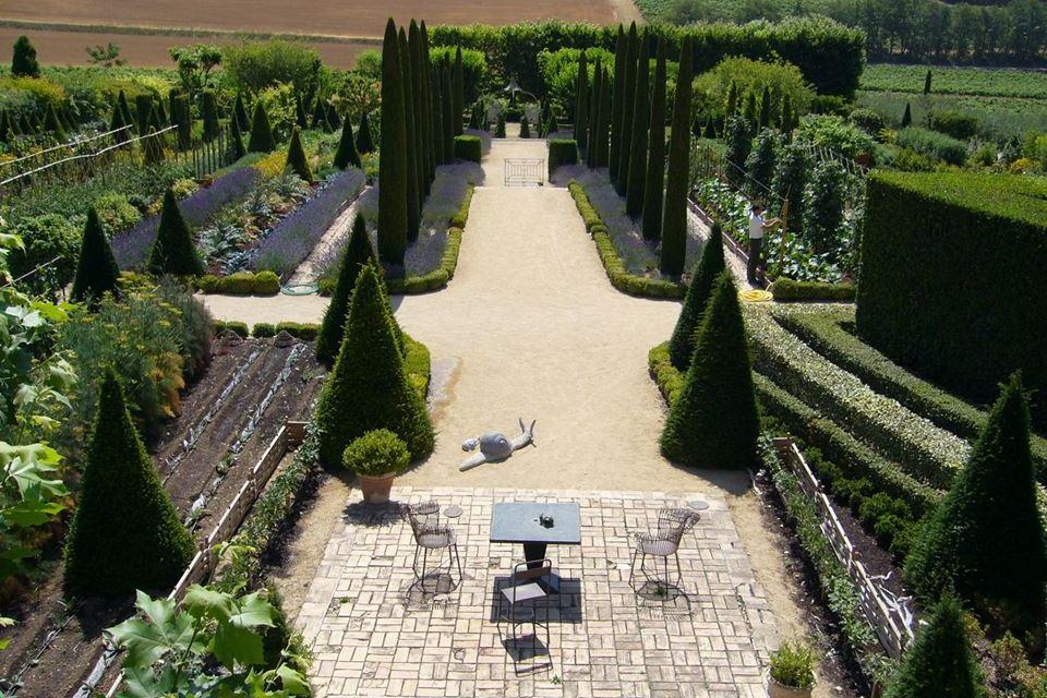 Jardin du château de Val Joanis