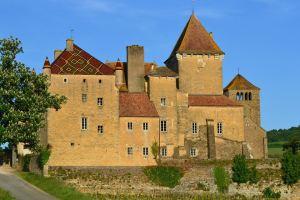 Saône et Loire Château de Pierreclos