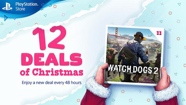 Watch Dogs 2 es la undécima oferta de Navidad en PlayStation Store