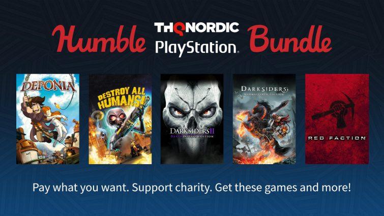THQ Nordic lanza un nuevo Humble Bundle para PlayStation