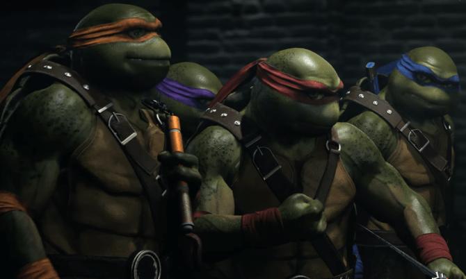 Las Tortugas Ninja se incorporan al plantel de Injustice 2 con su próximo pack