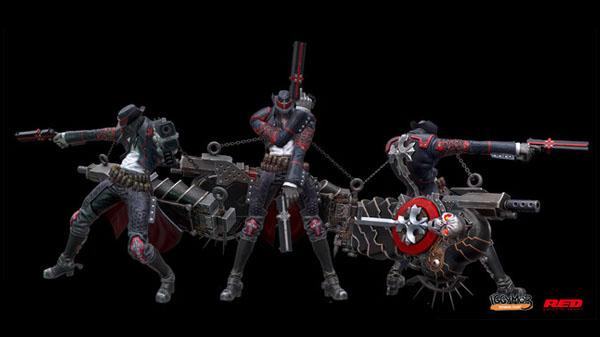 Gungrave G.O.R.E. se encuentra en pleno desarrollo para PlayStation 4