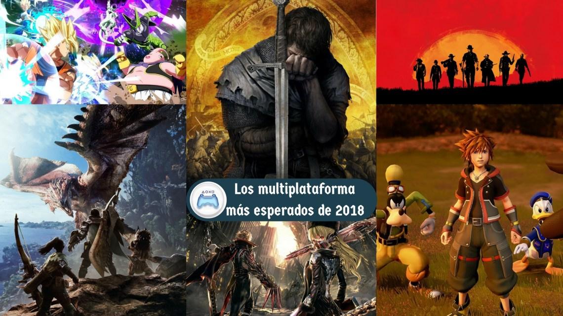 Especial   Los juegos multiplataforma más esperados de 2018