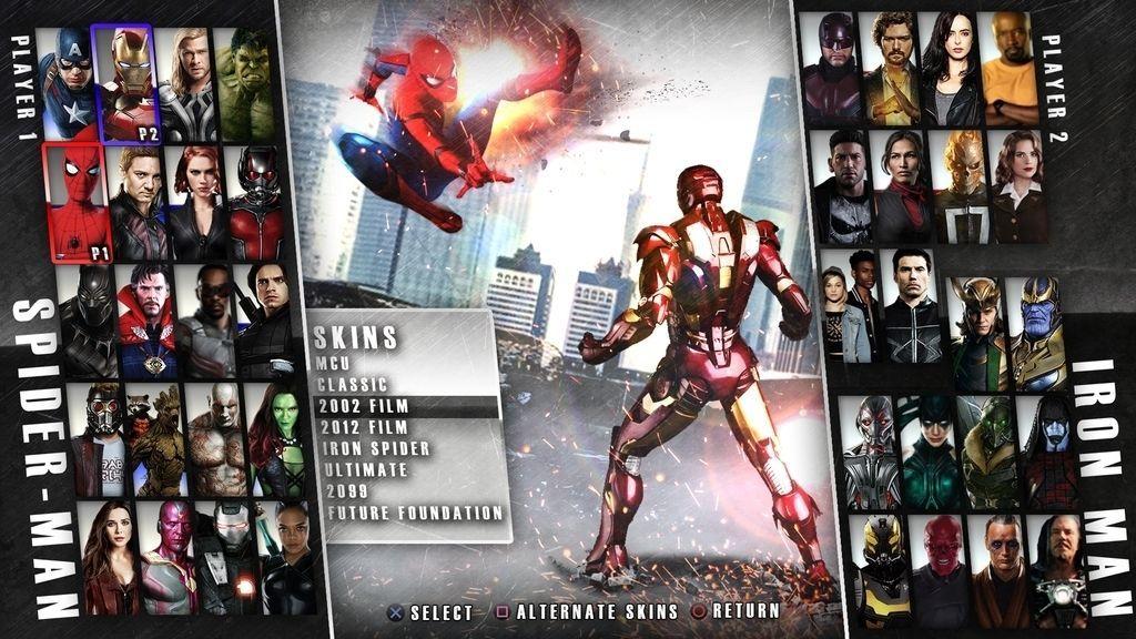 ¿Cómo sería Injustice 2 si fuese de Marvel?