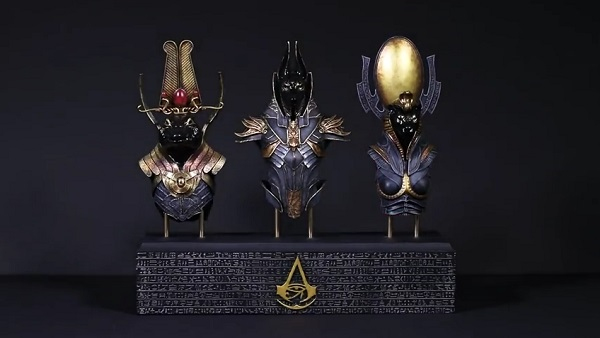 Espectacular figura de Assassin's Creed Origins